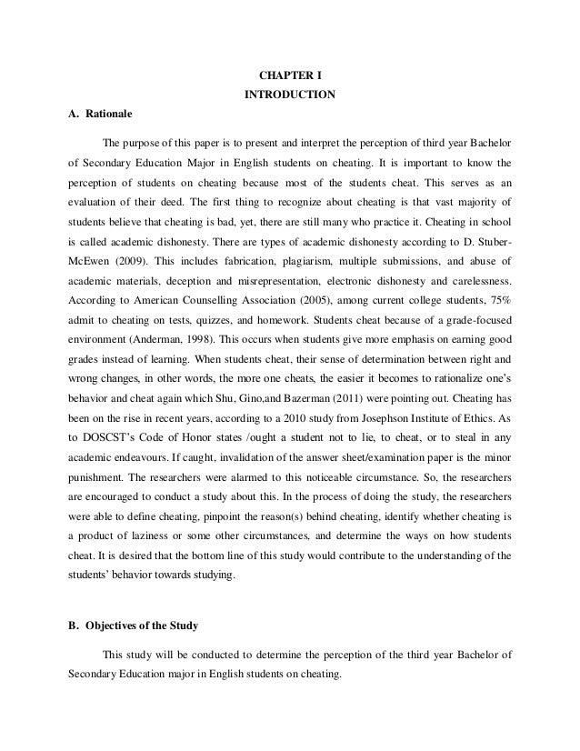 Purpose of academic research paper