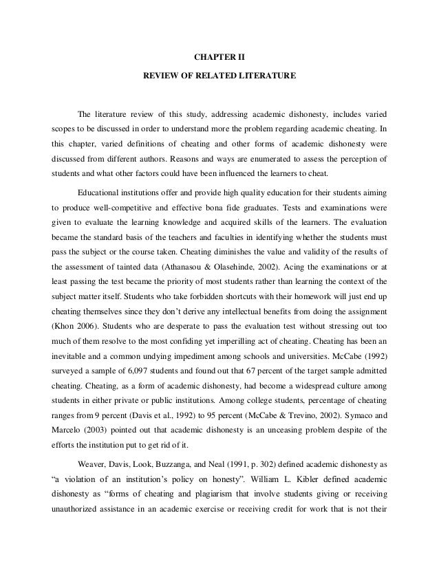 research paper on academic cheating 9