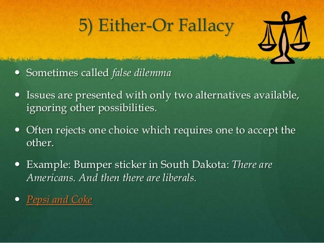 Eng 72 83 R Week 13 Day 2 April 23 Logical Fallacies