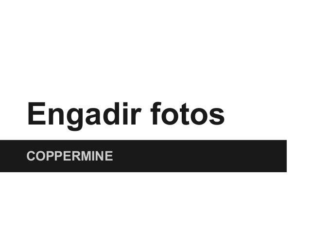 Engadir fotosCOPPERMINE