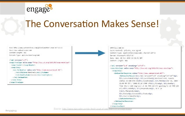 #engageug TheConversaConMakesSense! Source: http://www.bizcoder.com/a-fresh-coat-of-rest-paint-on-a-soap-stack