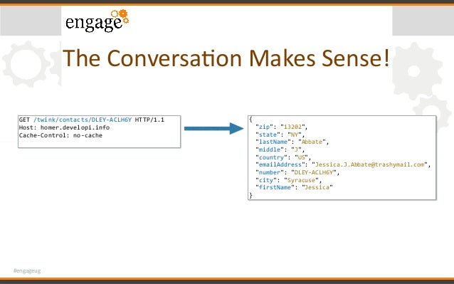#engageug TheConversaConMakesSense! GET/twink/contacts/DLEY-ACLH6YHTTP/1.1 Host:homer.developi.info Cache-Control:...