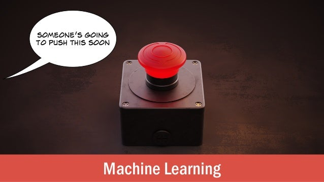 Machine Learning someone's going to push this soon