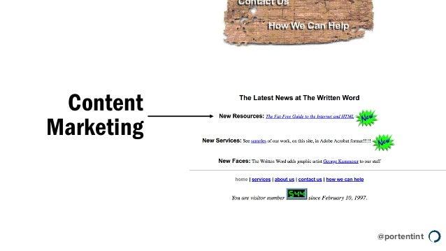 @portentint Content Marketing