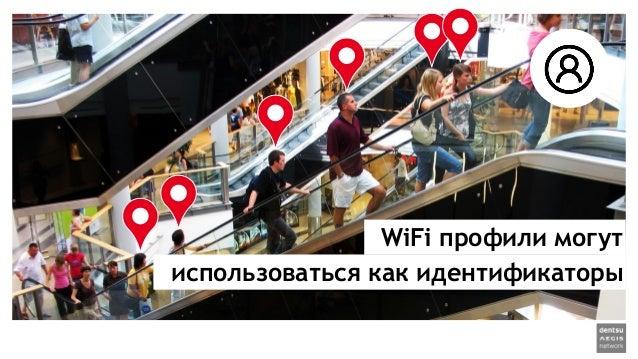 WiFi профили могут использоваться как идентификаторы
