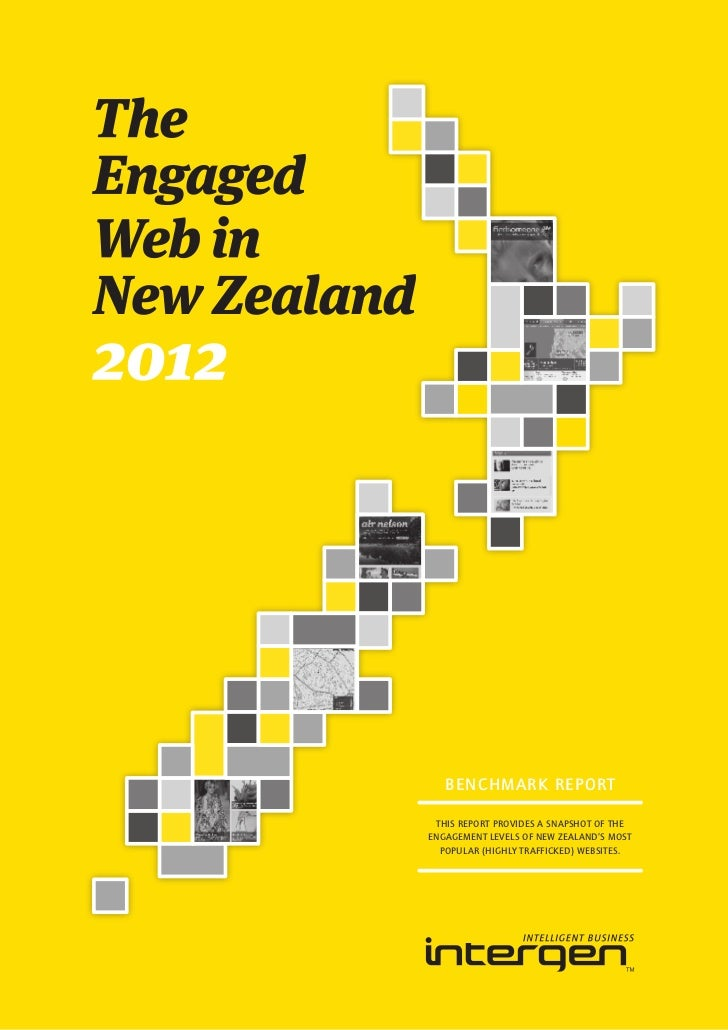 BENCHMARK REPORT THIS REPORT PROVIDES A SNAPSHOT OF THEENGAGEMENT LEVELS OF NEW ZEALAND'S MOST  POPULAR (HIGHLY TRAFFICKED...
