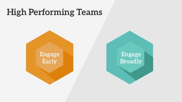 Engage! Bringing teams together to deliver software that makes a difference