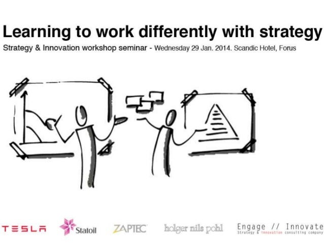 Learning to work differently with strategy workshop