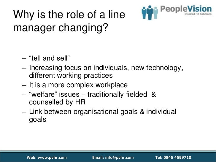 every line manager is an hr Human resource management to decentralize the hr function and make it accountable to specific line management indicated in human resources management.