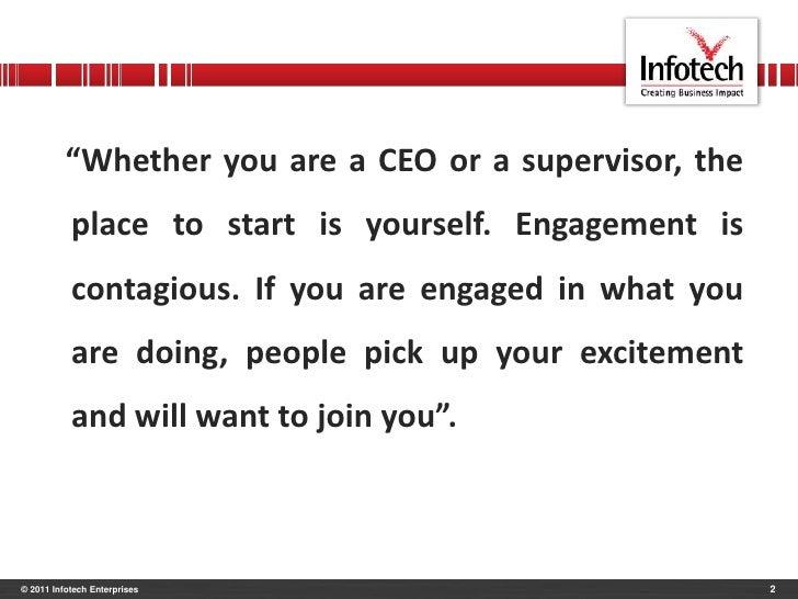 Employee Engagement Slide 2