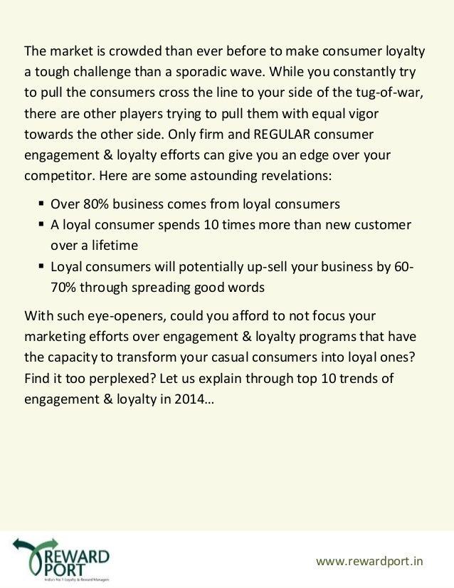 Top 10 Engagement & Loyalty trends under radar for 2014  Slide 2