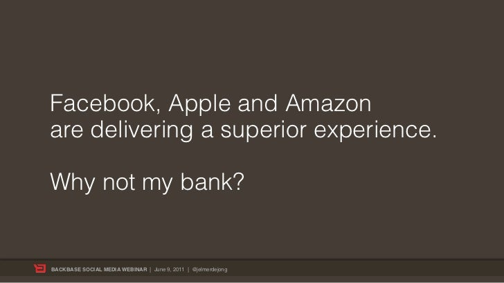 Bank 2.0 - How to get ready for the new era of Engagement Banking Slide 2