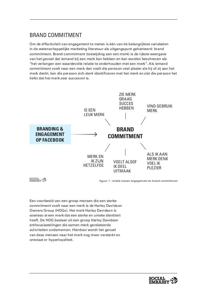 Facebook: Hype of heilige graal: Een onderzoek naar de invloed van Engagement op brand commitment Slide 3