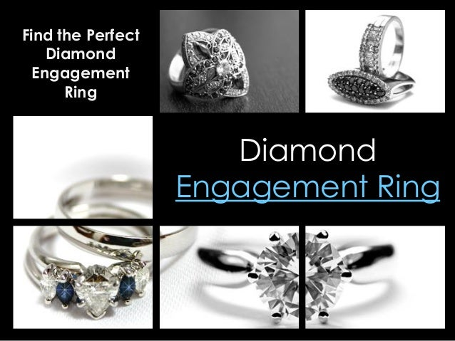 Diamond Engagement Ring Find the Perfect Diamond Engagement Ring