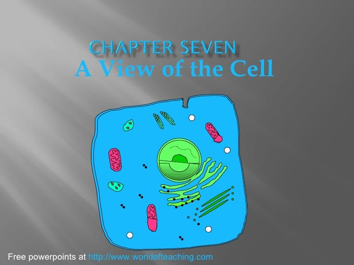 A View of the Cell Free powerpoints at  http://www.worldofteaching.com