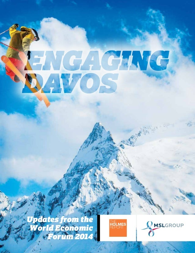Engaging Davos: Updates from the World Economic Forum 2014