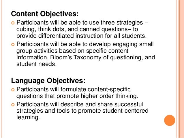 Engaging All Learners With Student Centered Activities