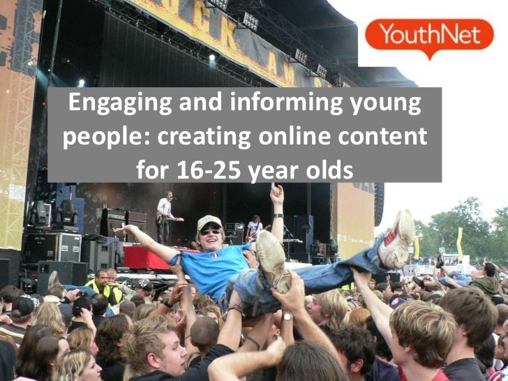 Engaging and informing young people: creating online content for 16-25 year olds<br />