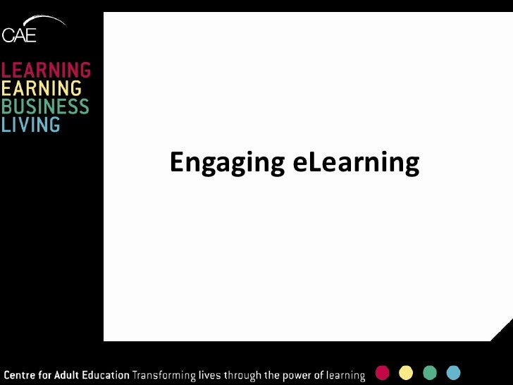 Engaging eLearning<br />