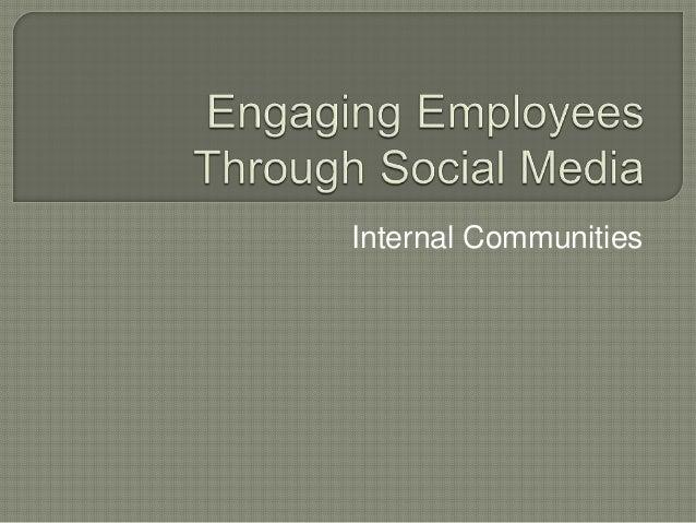 Internal Communities
