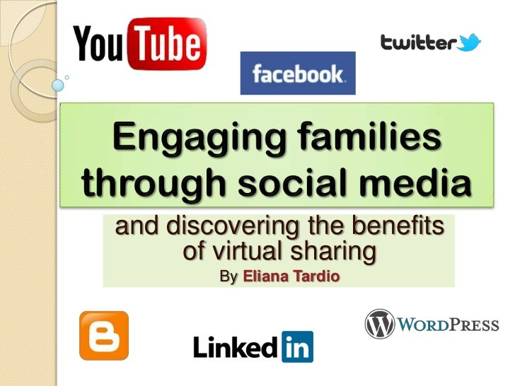 and discovering the benefits     of virtual sharing        By Eliana Tardio