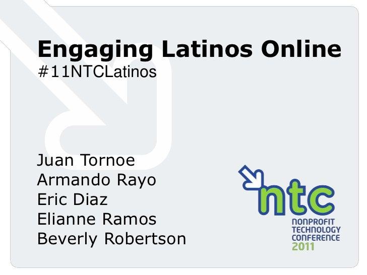 Engaging Latinos Online