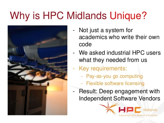 Making Contact: hpc-midlands.ac.uk               Engaging with HPC-Midlands:               Peter Strutton                 ...