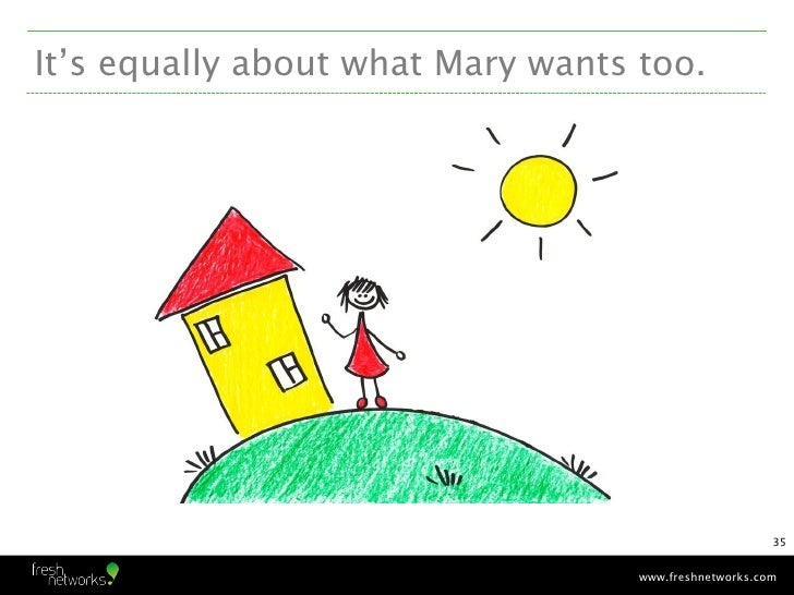 It's equally about what Mary wants too.                                                       35                          ...