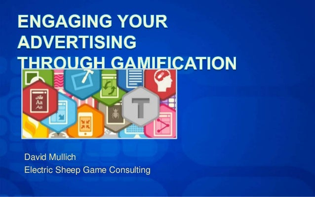 David Mullich Electric Sheep Game Consulting