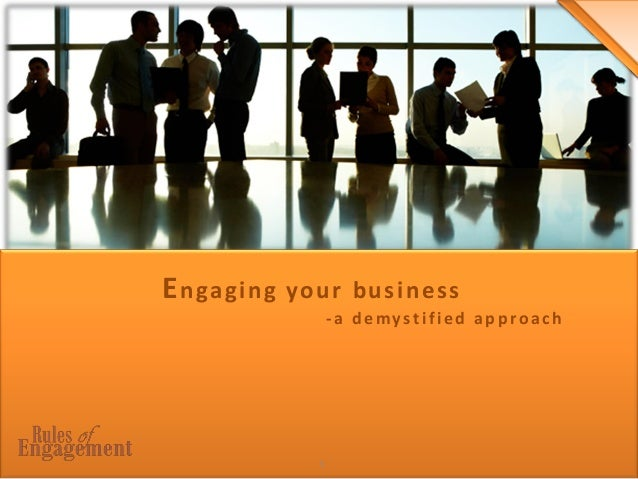 1 Engaging your business -a demystified approach