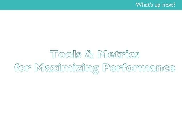 Tools & Metrics for Maximizing Performance - LuxeCorp Club eLuxe