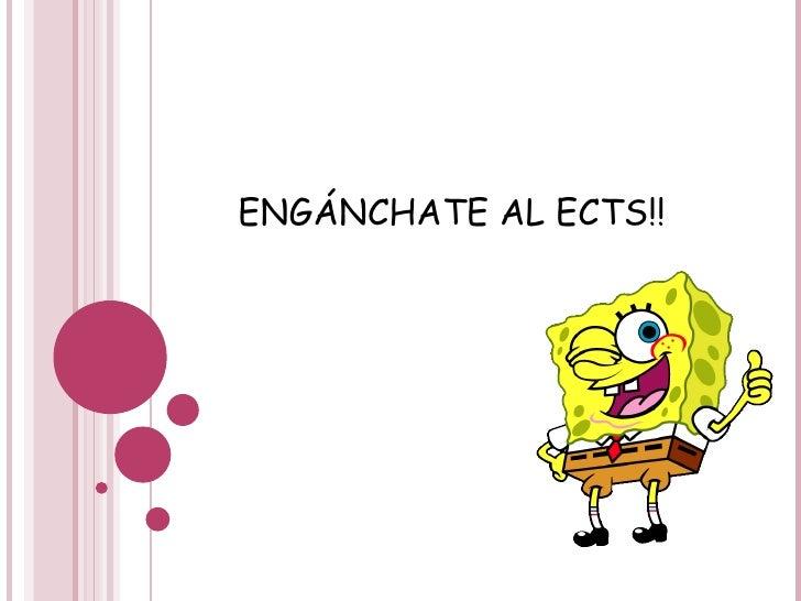 ENGÁNCHATE AL ECTS!!