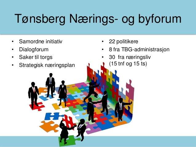 Mandagsmøte presentasjon - Tønsberg Næringsforening Slide 2