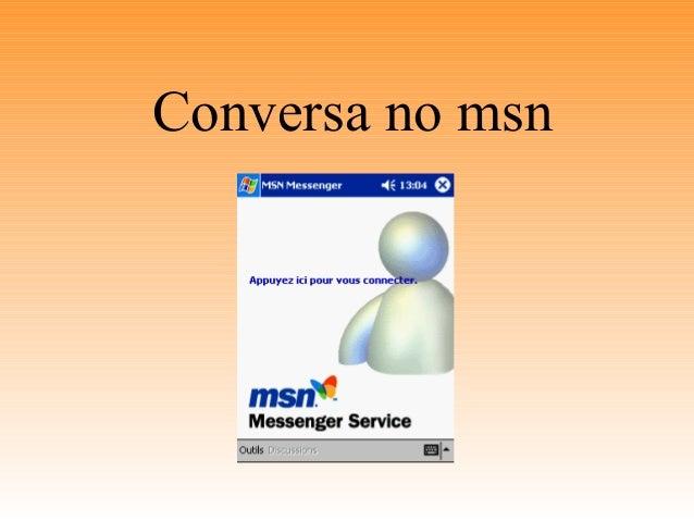 Conversa no msn