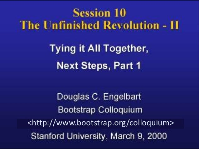 <http://www.bootstrap.org/colloquium>