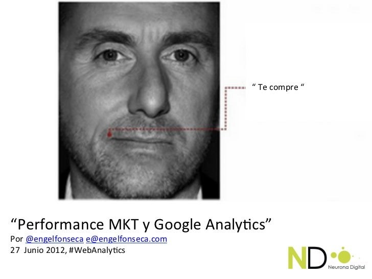 """Te                                                       """" Te compre """" """"Performance MKT y Google Analy..."""