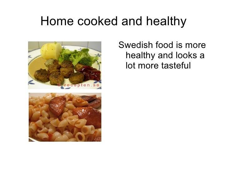 Comparison Food England-Sweden Slide 3