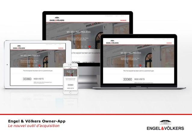 Engel & Völkers Owner-App Le nouvel outil d'acquisition