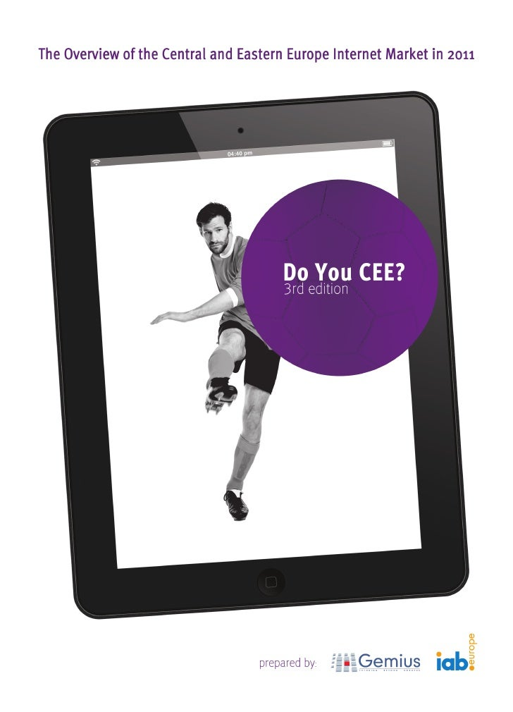 Promo - Do You CEE? 2011 report - Gemius & IAB Europe