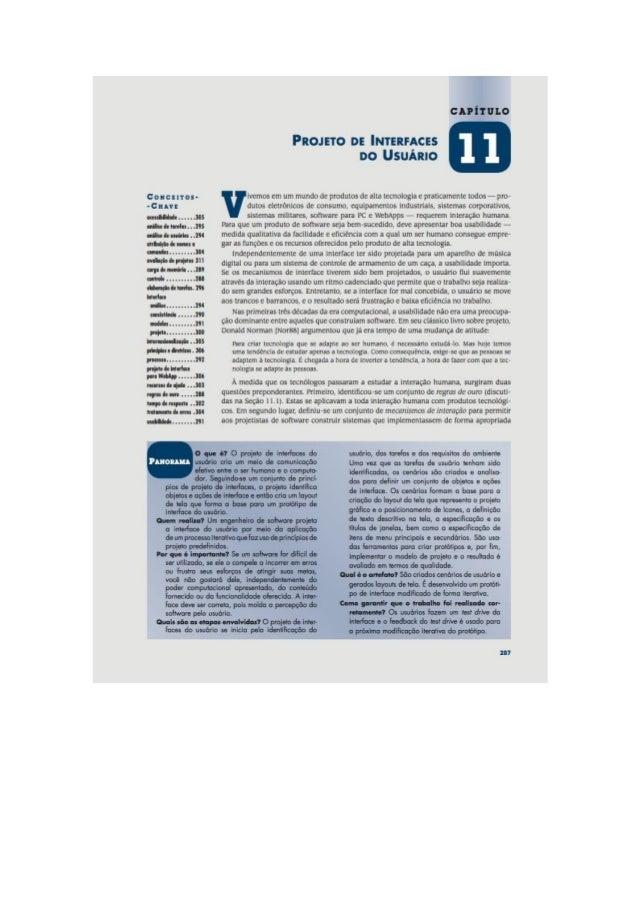 Engenharia de software 7° edição roger s.pressman capítulo 11
