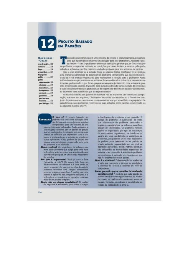 Engenharia de software 7° edição roger s.pressman capítulo 12