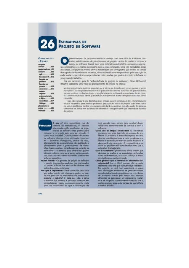 Engenharia de software 7° edição roger s.pressman capítulo 26