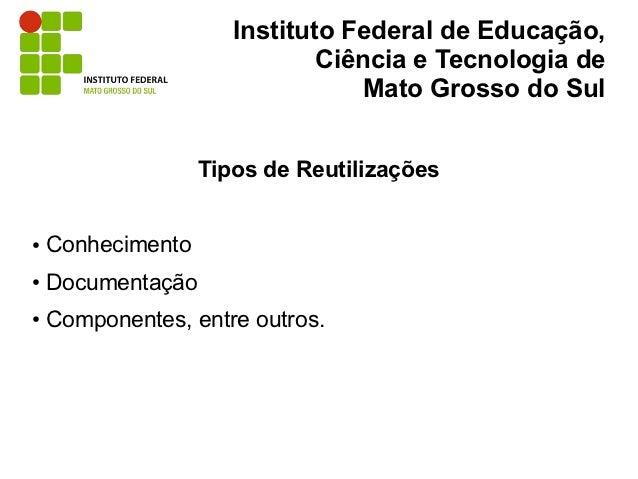 Instituto Federal de Educação,                              Ciência e Tecnologia de                                  Mato ...