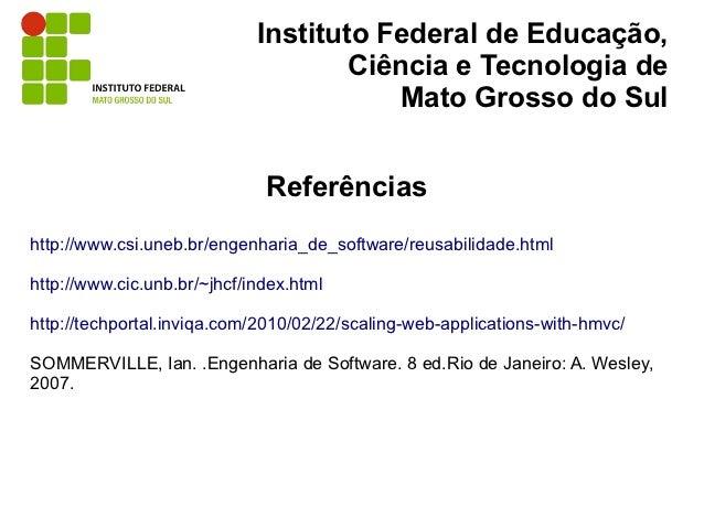 Instituto Federal de Educação,                                     Ciência e Tecnologia de                                ...