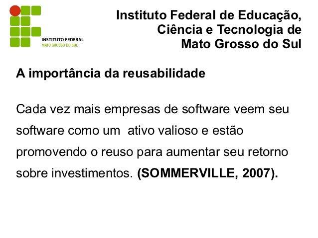 Instituto Federal de Educação,                        Ciência e Tecnologia de                            Mato Grosso do Su...