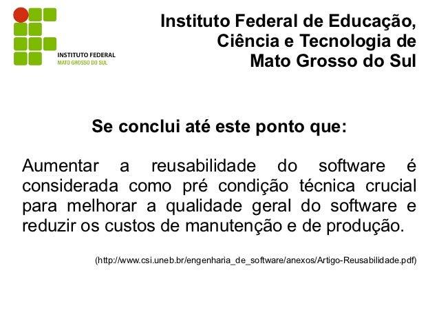 Instituto Federal de Educação,                                Ciência e Tecnologia de                                    M...