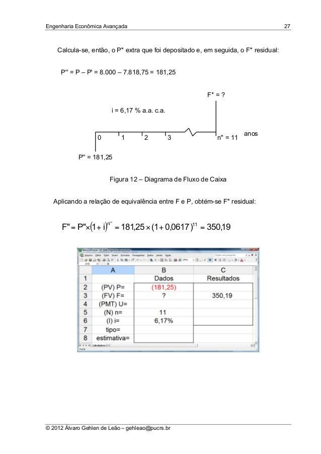 engenharia economica avancada introdu u00e7 u00e3o