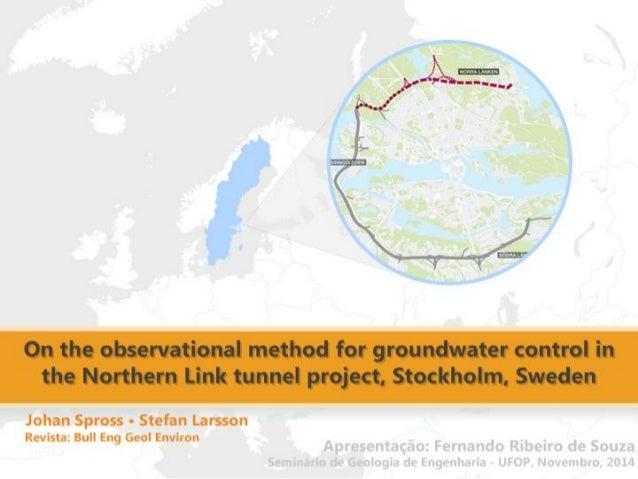 """Contextualização  Artigo e projeto """"Norra Länken """"  Apresentação do artigo  Introdução  Ligação do Norte  Aplicação do Eur..."""
