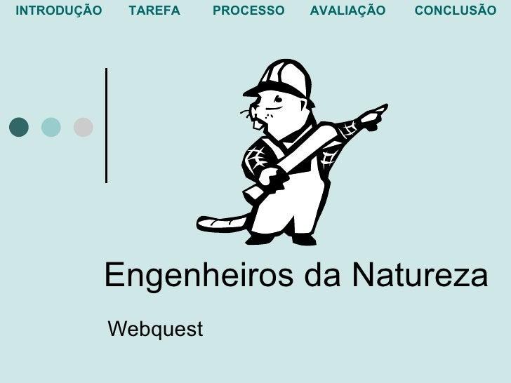 Engenheiros da Natureza Webquest