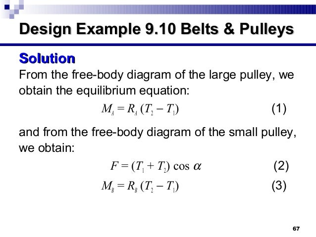 Pulleys Equilibrium : Concepts about friction